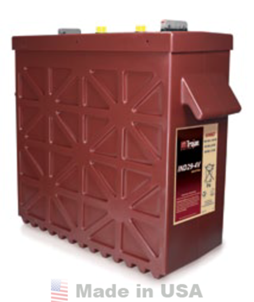 Trojan IND29-4V Industrial Line-Deep-Cycle Flooded Battery