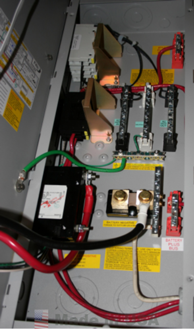 Midnite Solar E-Panel, Gray Steel, 125A, for Magnum Series MM Inverters