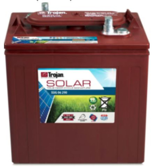TROJAN SSIG 06 290 (T-145) SOLAR SIGNATURE FLOODED BATTERY