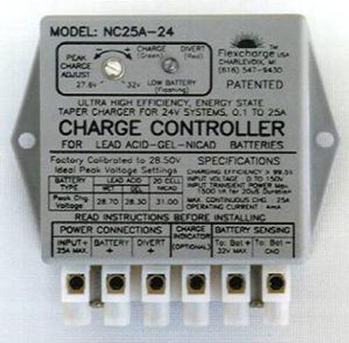 Flexcharge Solar Wind Hydro Turbine Charge Controller NC25A-24 Hybrid 12 Volt US