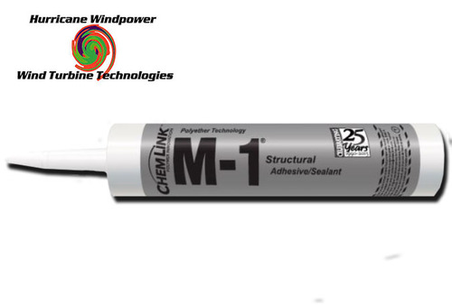 Chemlink M1 BLACK Structural Sealant - 10.1 oz