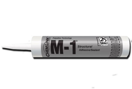 Chemlink M1 BLACK Structural Sealant - 10.1 oz