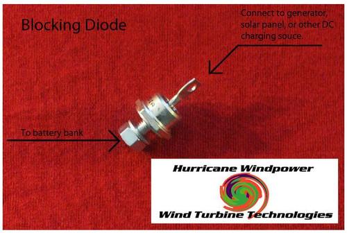 Wind Generator Heavy 80 AMP 600 V Blocking Diode