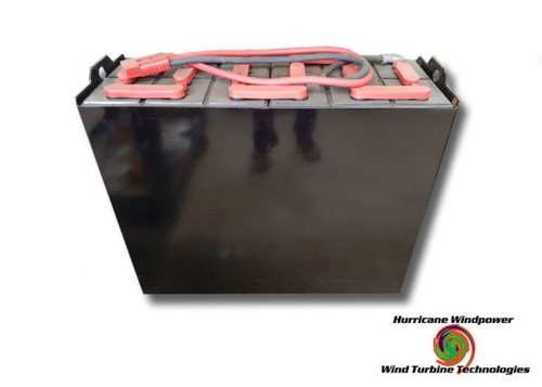 24 Volt Fully Refurbished Forklift Battery w/Warranty 800AH Capacity for Solar