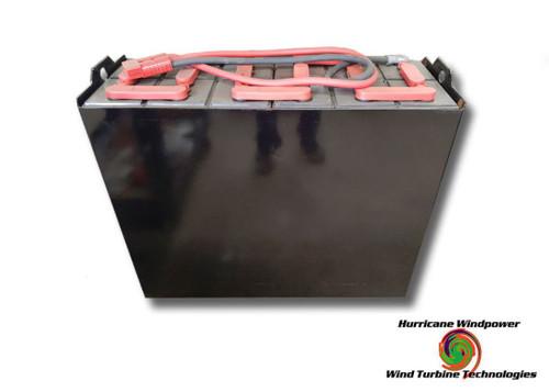 24 Volt Fully Refurbished Forklift Battery w/Warranty 1575AH Capacity for Solar