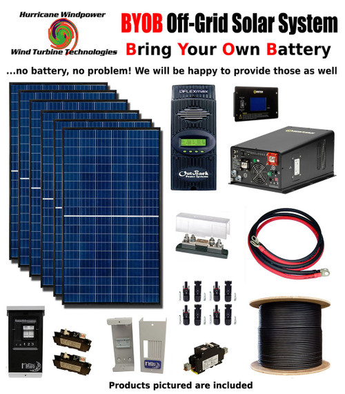 BYOB Off-Grid 3.4KW 48V Solar Panel Kit Tiny House Cabin PV System on off grid battery, off grid electrical systems, off grid tools, off grid blueprints, off grid air conditioning, off grid lighting,