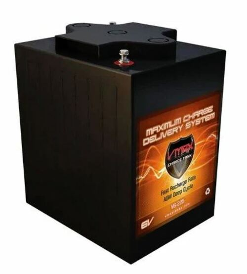 VMAX Charge Tank V6-225 6 Volts 225AH Deep Cycle, High performance AGM Battery