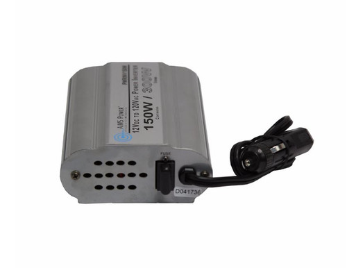 AIMS 150 Watt Modified Sine Wave Power Inverter 12 Volt with 2 USB Ports PWRINV150W