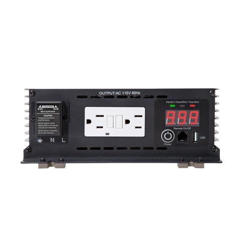 THOR 3000 Watt Pure SINE Wave Inverter 12V with USB 2.1