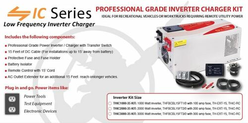 THOR THIC1000-35 KIT Professional Grade Inverter KIT