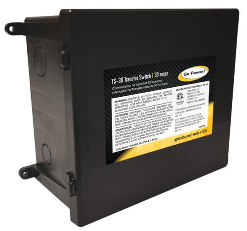 Go Power 30 Amp Transfer Switch
