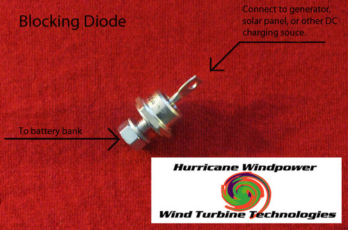 Heavy 40 AMP 600 V Blocking Diode for Wind Generator and Solar Panel