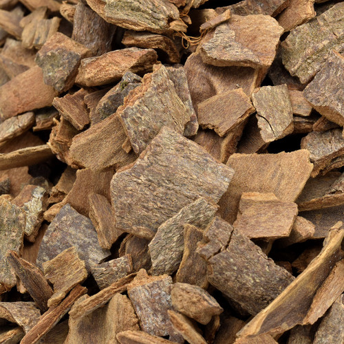 cinnamon bark, cassia, chopped