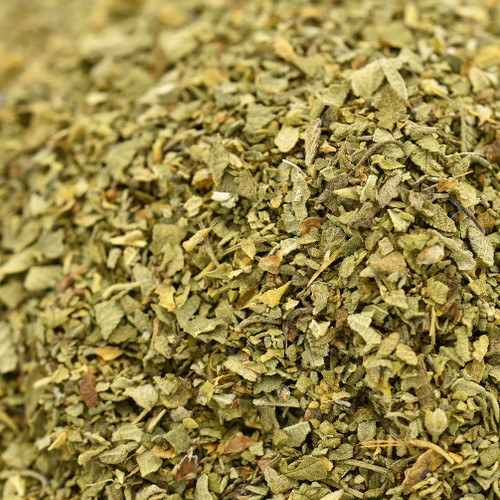 oregano leaf, Mexican, cut and sifted