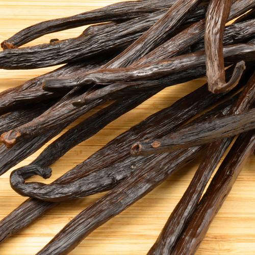 vanilla beans, planifolia (bourbon), organic