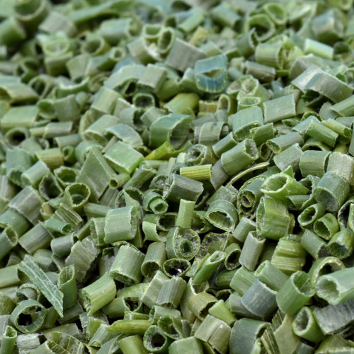 chives, sliced, freeze dried