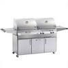 Firemagic Aurora A830s Gas/ Charcoal Combo Portable Grill
