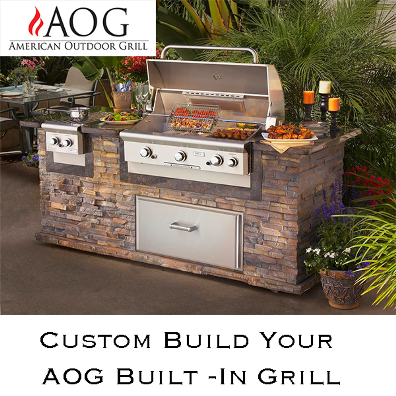 "Build Your AOG Built In Grill 24"", 30"" & 36"""