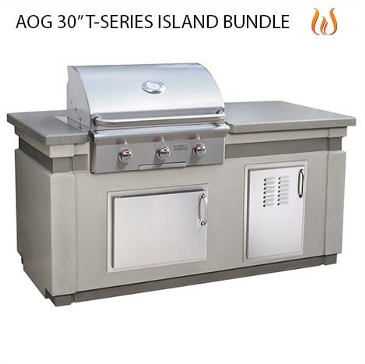 "AOG 30"" T-Series Island Bundle"
