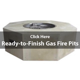 Ready-to-Finish Gas Fire Pits