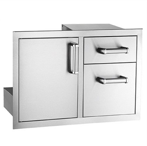 Access Door with Double Drawer