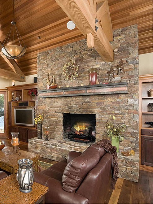 "Dimplex 25"" Revillusion Masonry Fireplace Log Set"