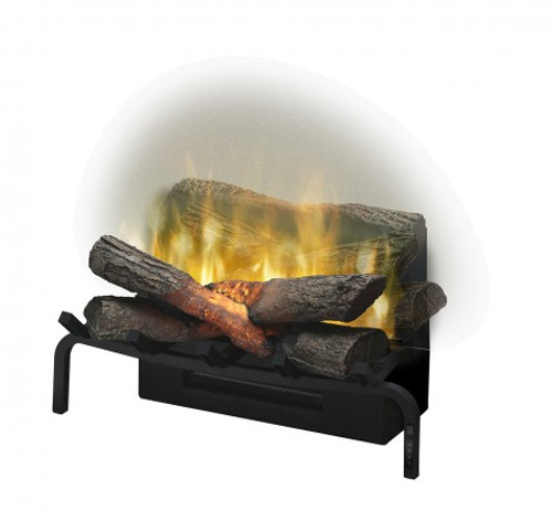 "20"" Revillusion Masonry fireplace log set with Revillusion flame technology"