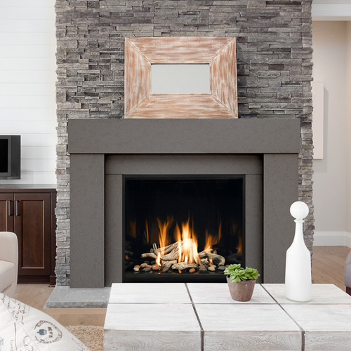Dracme Chicago Cast Stone Mantel
