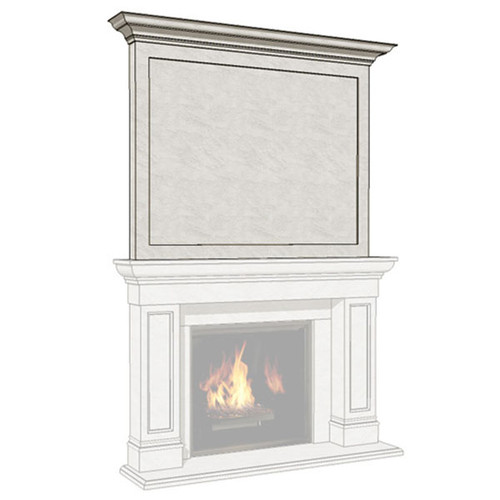 Dracme Estate Cast Stone Uppermantel