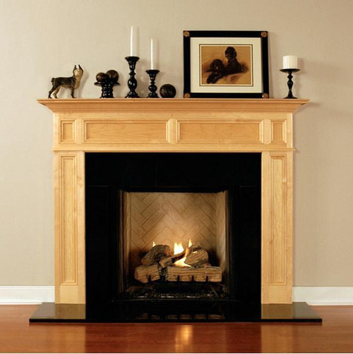 CONCORD FIREPLACE MANTEL STANDARD SIZES