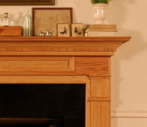 MT VERNON WOOD FIREPLACE MANTEL CUSTOM