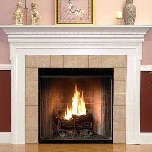 Nashborough Fireplace Mantel Standard Sizes