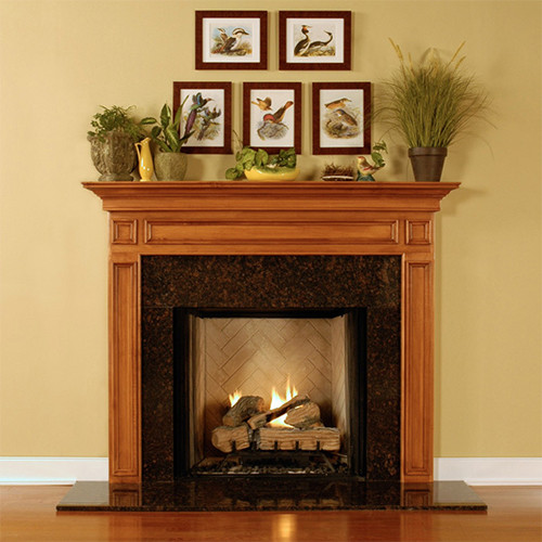 SAVANNAH MANTEL IN MAPLE UN 54X42X1.5