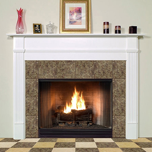 SHIPPENSBURG FIREPLACE MANTEL STANDARD SIZES