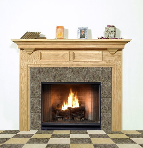 WILLIAMSBURG FIREPLACE MANTEL STANDARD SIZES