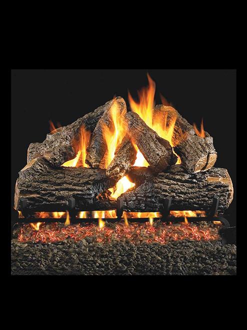 Charred Oak Gas Logs