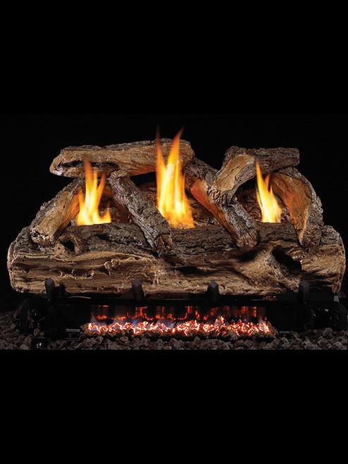 Split Oak Gas Logs