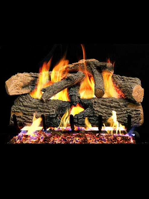 Charred Angel Oak Gas Logs