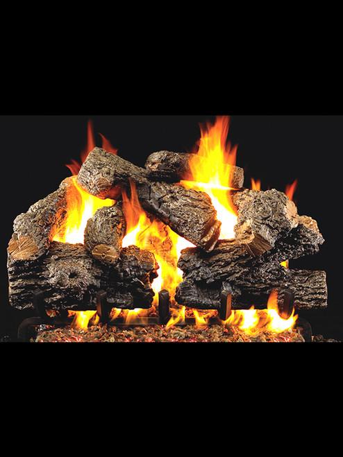 Peterson Real Fyre Charred Royal English Oak Gas Logs