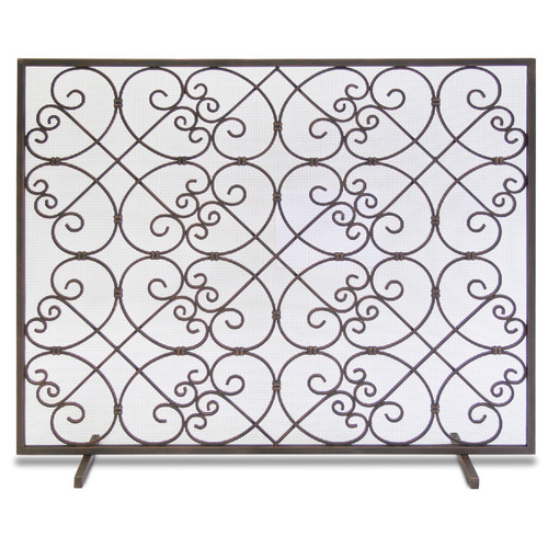 "Pilgrim Single Panel Abington Screen 39""W x 31.75""H"