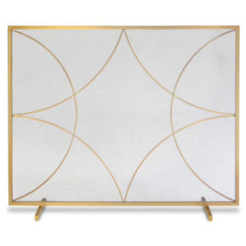 "Pilgrim Single Panel Forged Diamond Screen 39""W x 32""H"