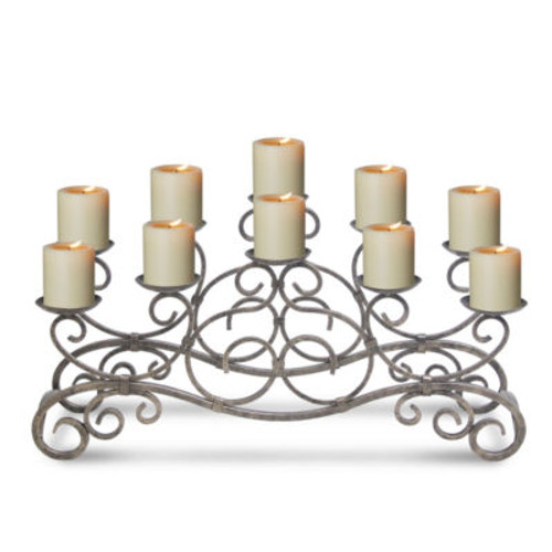 Brighton Candelabra - Holds 10 Candles