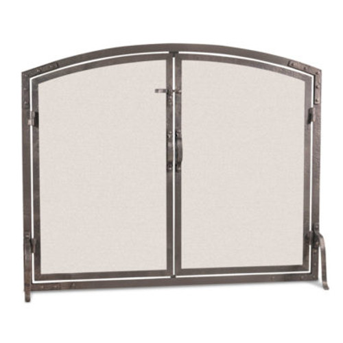 "Pilgrim Old World Arched Screen with Arched Doors 42""W x 34""H"