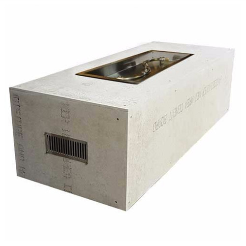 """60""""X24"""" Ready to Finish Fire Pit Enclosures with S- Fire Burner"""