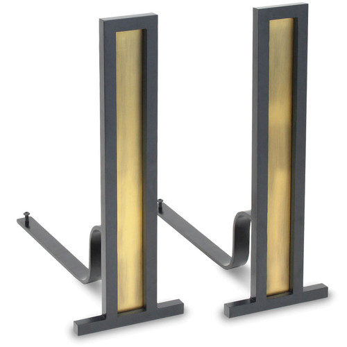 Grand Tower Andirons (Multi Finishes Available)