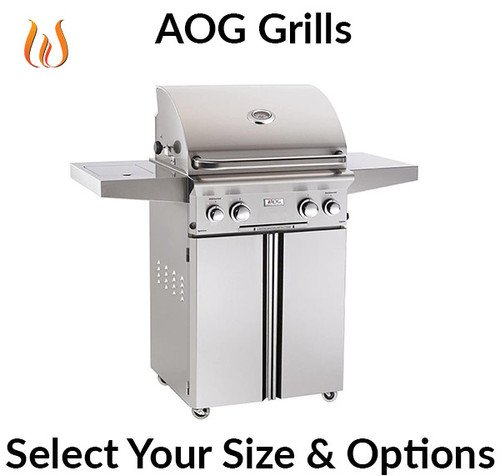 """Build Your AOG Freestanding Grill 24"""",30"""" & 36"""""""