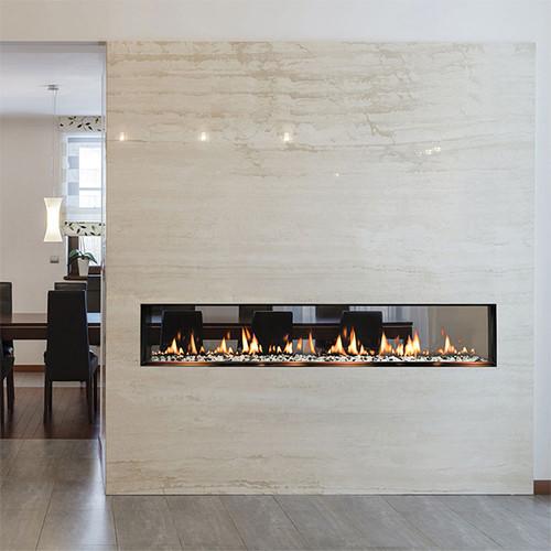 Solas Fire SIXTY0 See-Thru Slim-Line Built-In