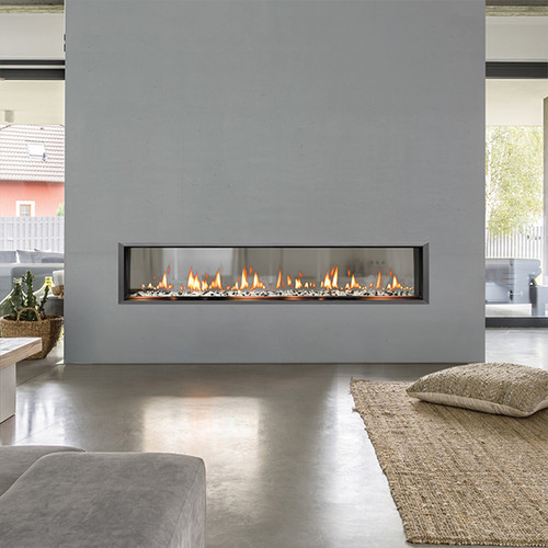 Solas Fire SIXTY0 See-Thru Slim-Line Built-In