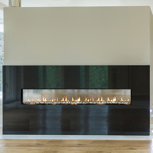 Solas Fire SEVENTY2 See-Thru Slim-Line Built-In