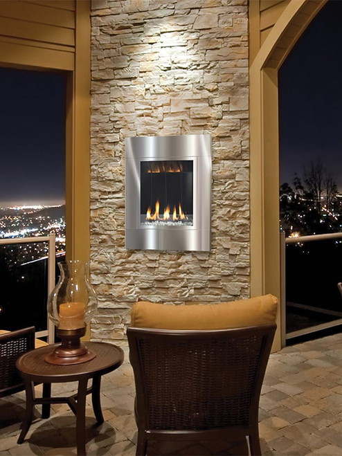 Solas Fire ONE6 Outdoor Contemporary Fireplace